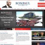 Ron Paul 2012 Website at www.ronpaul2012.com